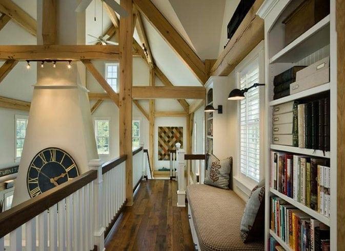 barn home loft riverbend timber framing