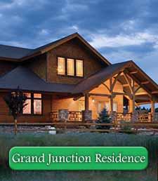 Grand Junction Craftsman Timber Frame Home
