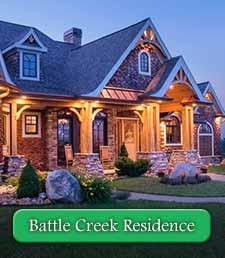 Battle Creek Craftsman Timber Frame Home