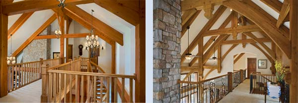 custom timber frame examples