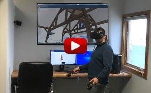 virtual reality tour timber frame home
