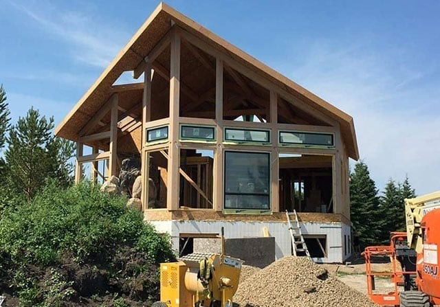 BuilderSelect™ - builder select riverbend timber framing