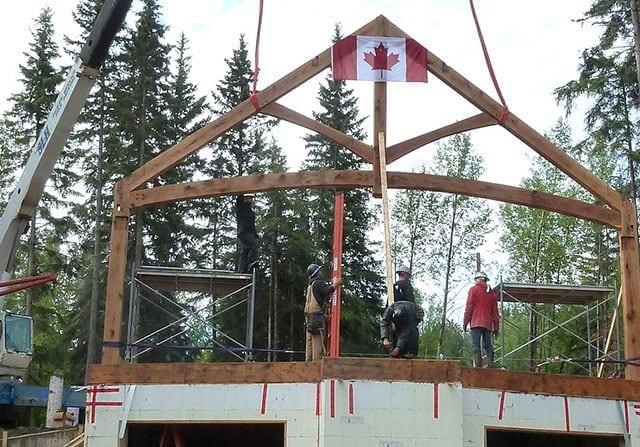 timber frame canada
