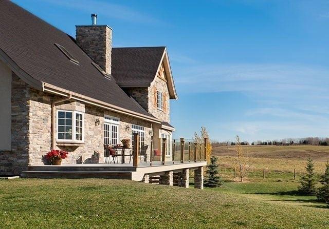 Design to Budget - timber frame deck exterior