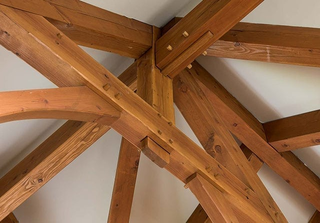 Craftsmanship - timber truss detail