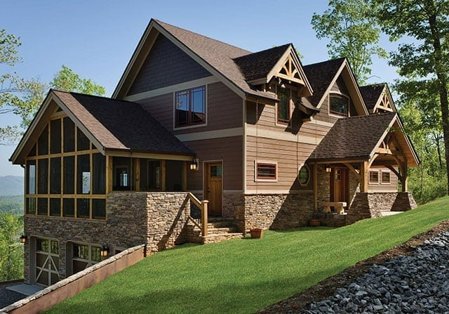 cattail lodge custom timber frame home