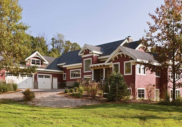 tuscany style timber frame home