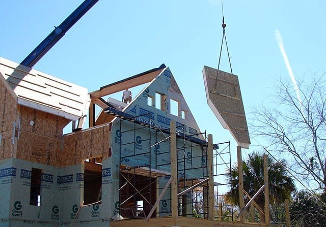 structural insulated panels assembly