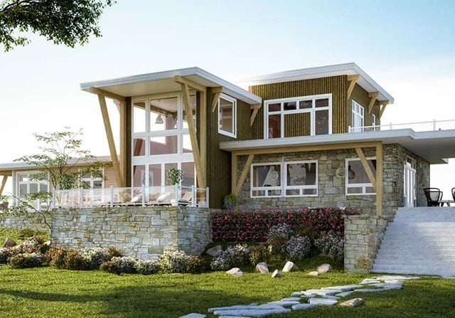 Modern Timber Frame Homes Contemporary Timber Design