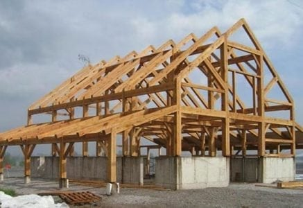 timber frame authentic barns