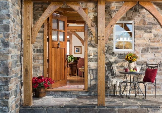 Home - Custom timber frame home