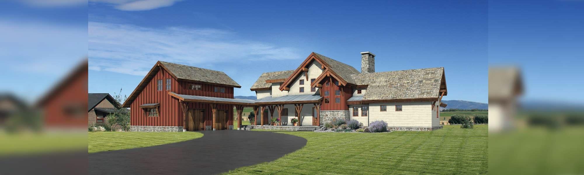 asheville barn home floor plan