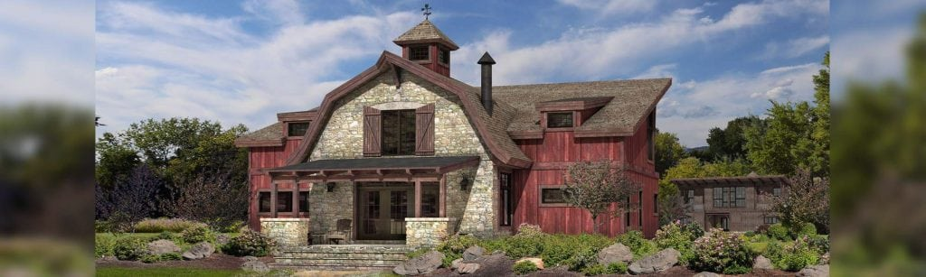 Barlow timber barn home floor plan