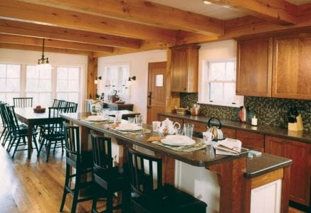 bloomfield-hills-kitchen.jpg - timber frame dining area