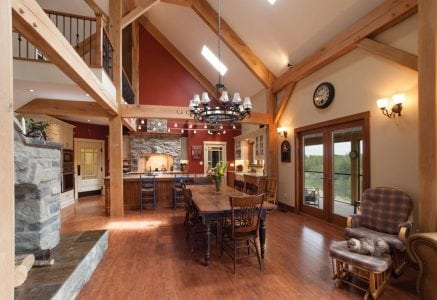 calgary-dine.jpg - custom timber frame home