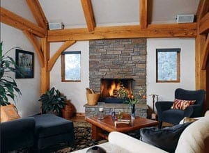 Timber Home Great Room
