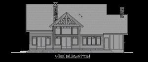 Cattail Lodge - rear el