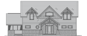 Cattail Lodge - cattail-front
