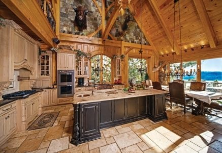 dale-hallow-kitchen-dine.jpg - timber frame kitchen and dining space