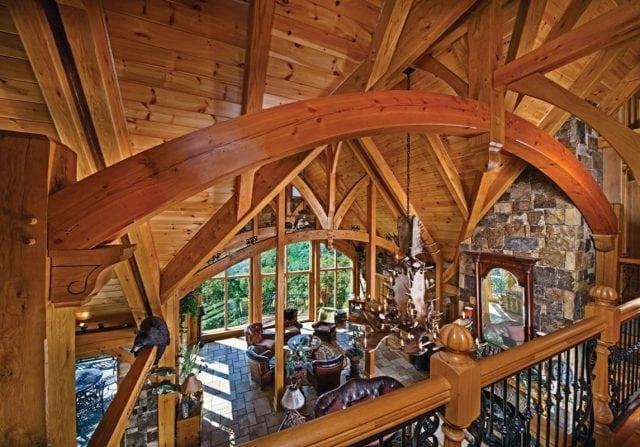 timber frame loft riverbend