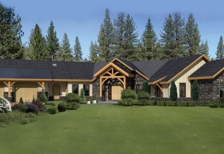 Edgewood timber floor plans