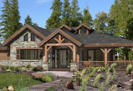 Grandview Timber Frame Cottage Design