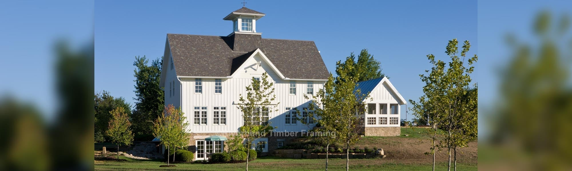 barn style home timber framed