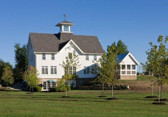 ohio timber frame barn home