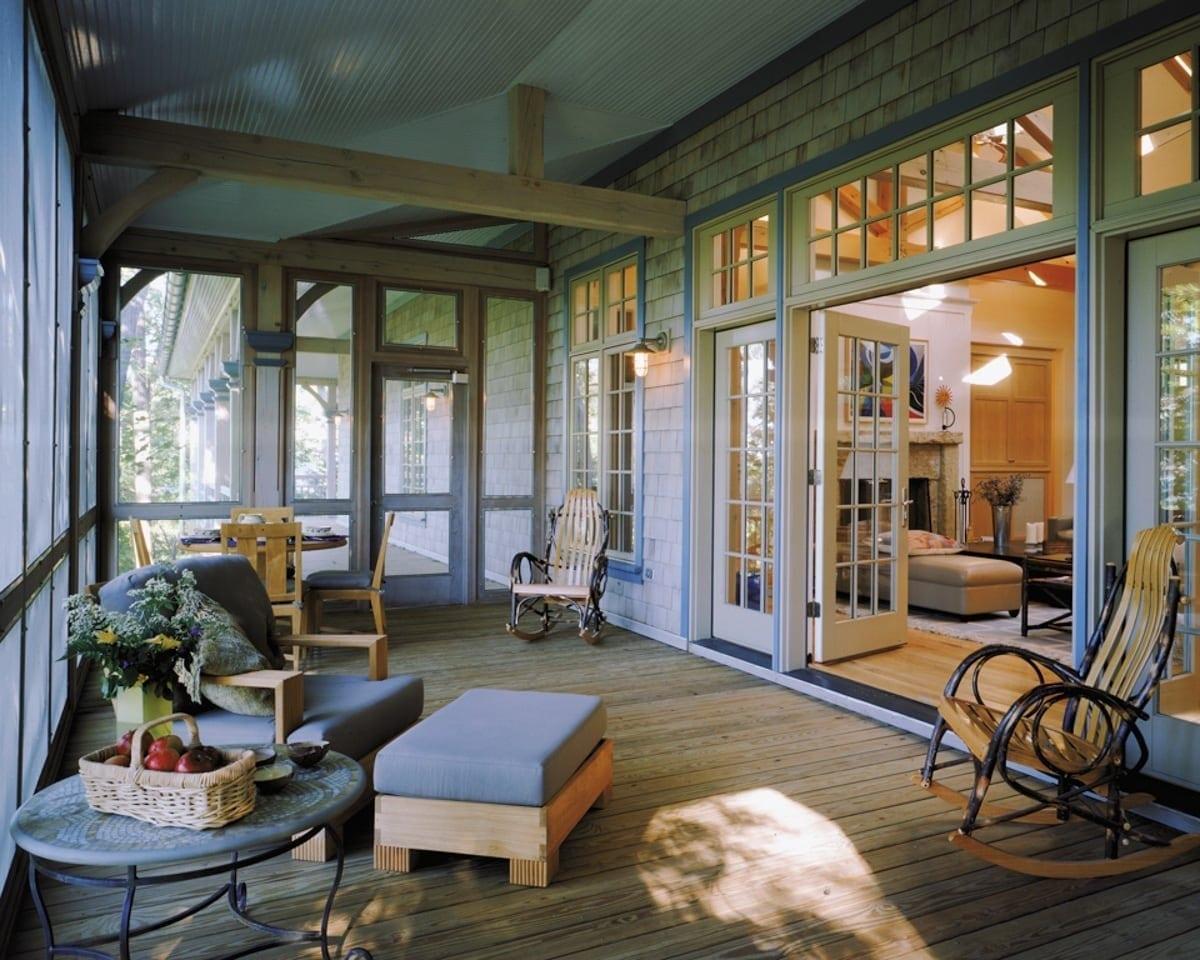 Lake Michigan Residence Timber Frame Home