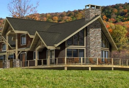 Mayson mountain timber floor plan