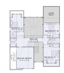 Mountain View - mountain view second story floor plan
