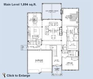 Mountain View Floor Plan
