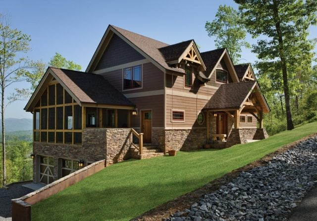 Timber Home View -