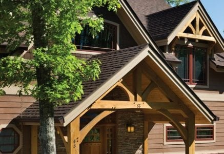 murphy-timber-frame-home-entry.jpg - timber frame home entry