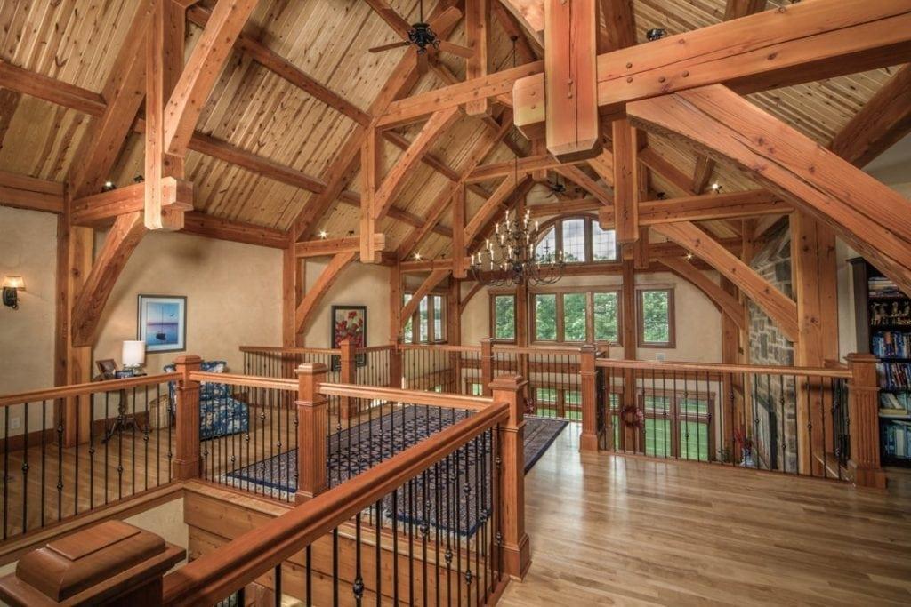 timber frame loft