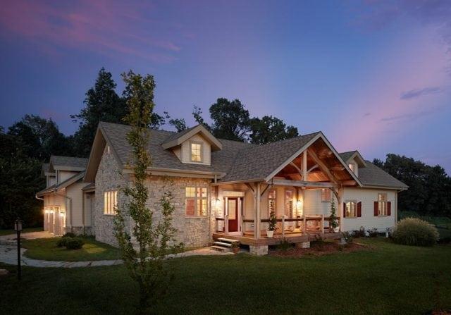 timber frame home kentucky
