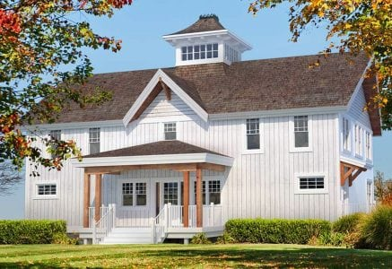 Richardson barn home timber plan