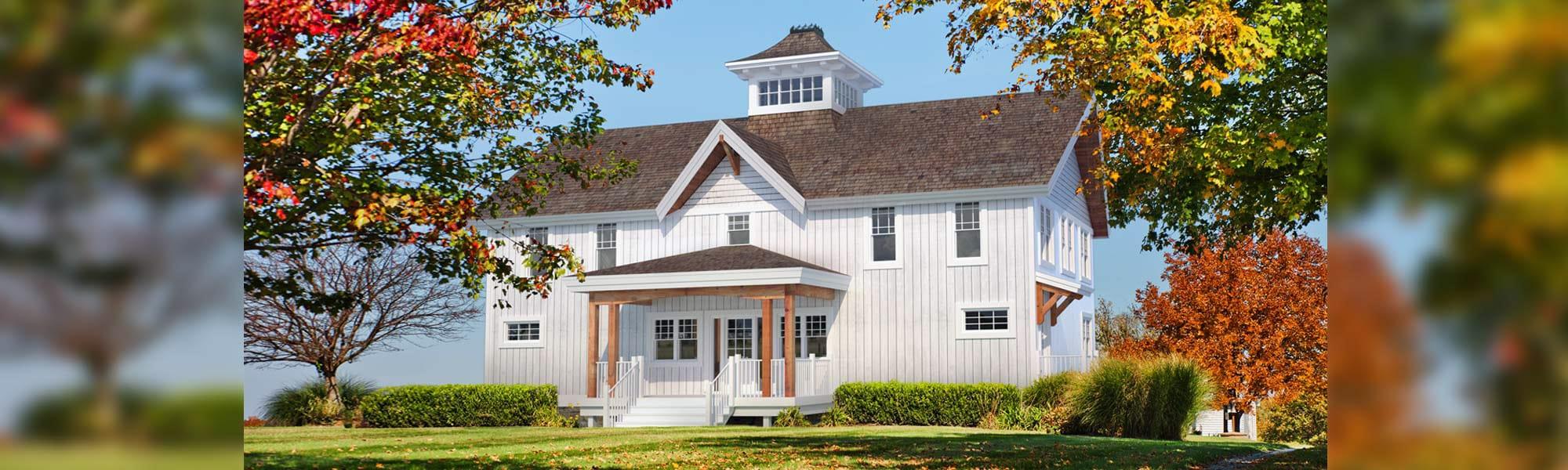 Richardson barn home timber plan