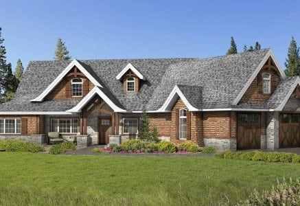 Ridgeway timber home floor plan