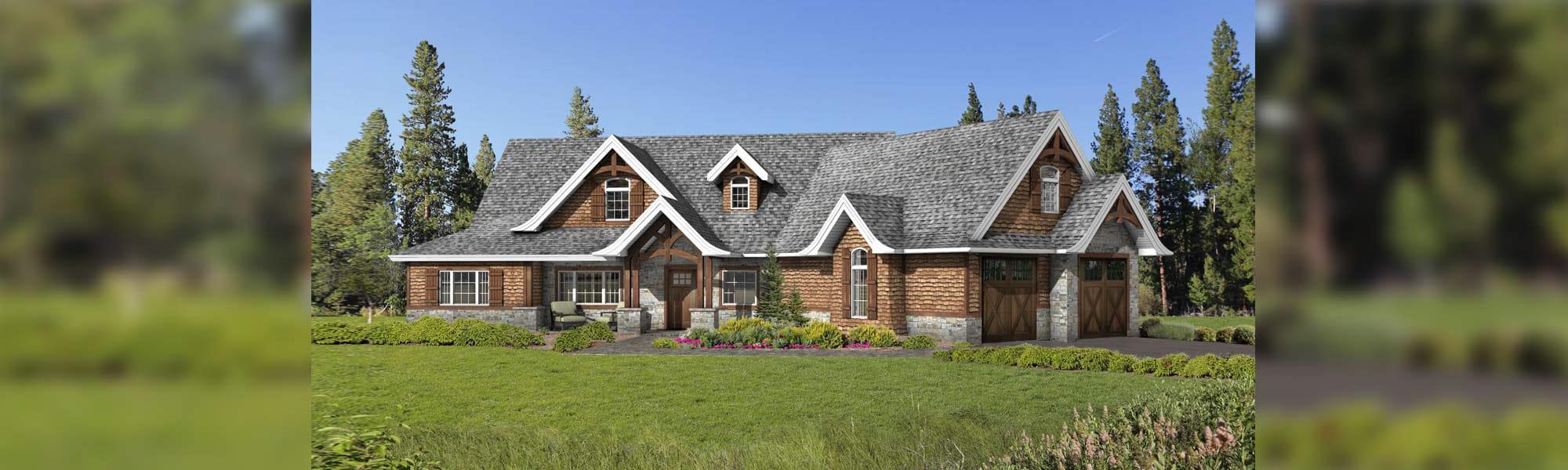 Ridgeway timber home floor plan