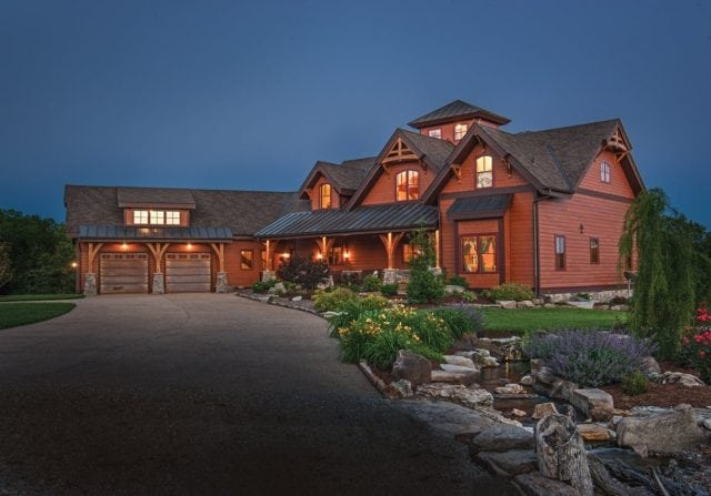 timber frame home european style