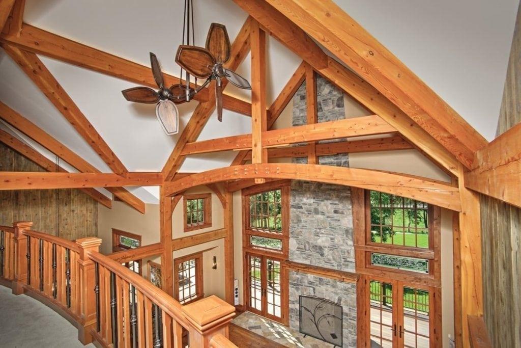 custom timber truss in missouri