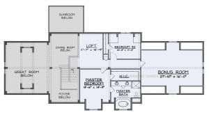 Stone Ridge - stone ridge second story floor plan