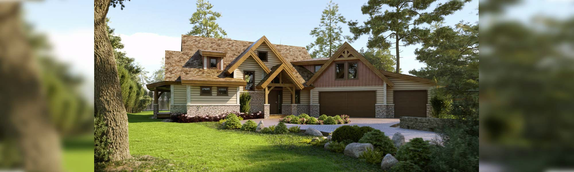 Sutton timber home floor plan