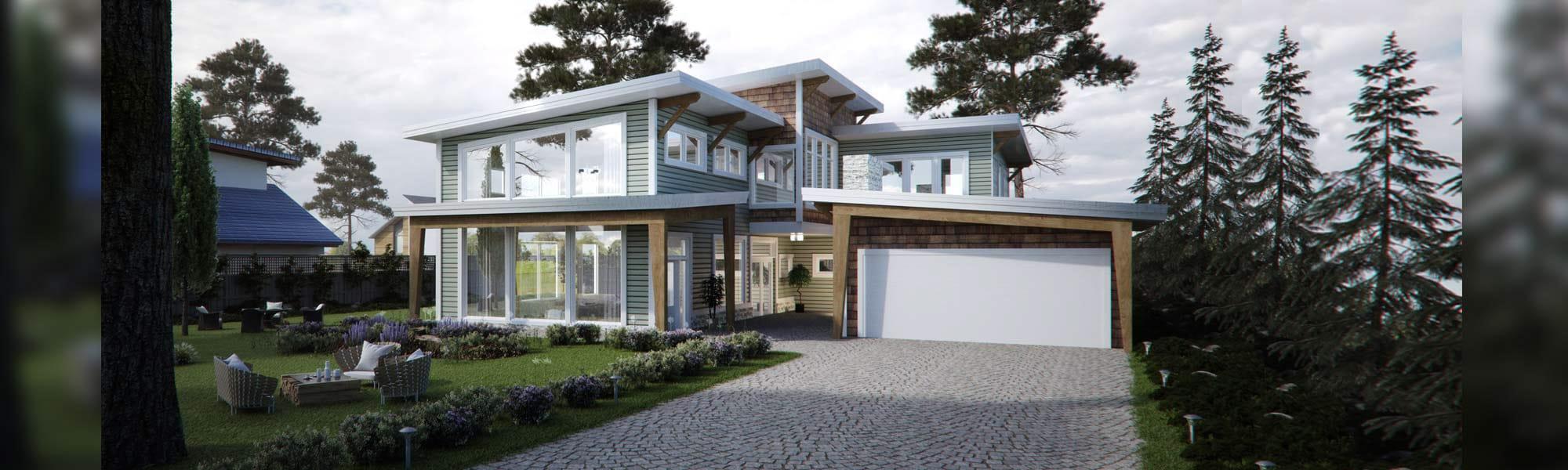 Tacoma craftsman timber frame floor plan
