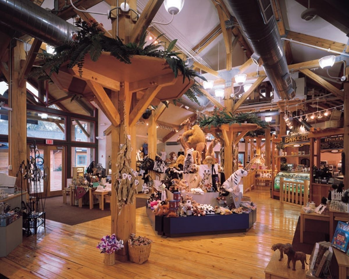 toledo zoo gift shop timber framed