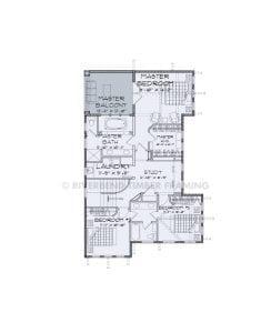 Torrey Pines - torrey pines second story floor plan