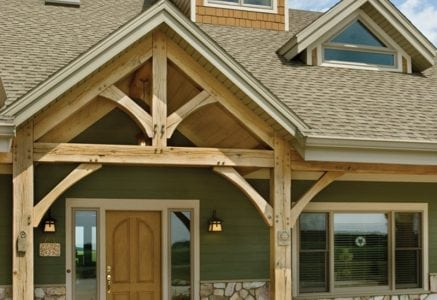 wauseon-timber-frame-entry.jpg - timber frame entry exterior