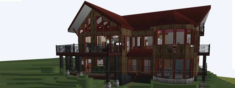 Our Process - custom design timber frame home