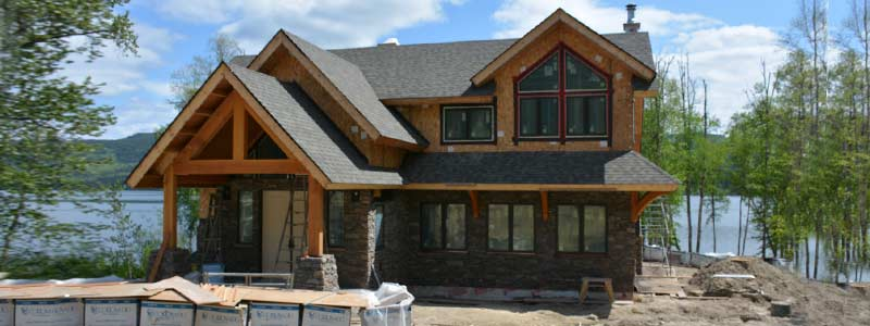 Our Process - finishing touches custom timber frame home
